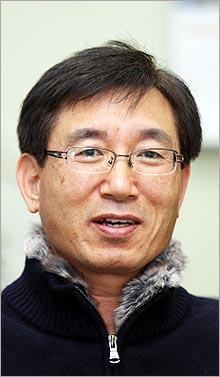 달마전자 박병윤 대표이사.