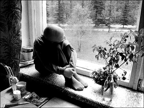 체르노빌 핵사고로 인한 갑상선암을 앓고 있는 어린이, 벨로루시 수도 민스크의 종양센터에서. 출처 : http://blog.jinbo.net/azrael