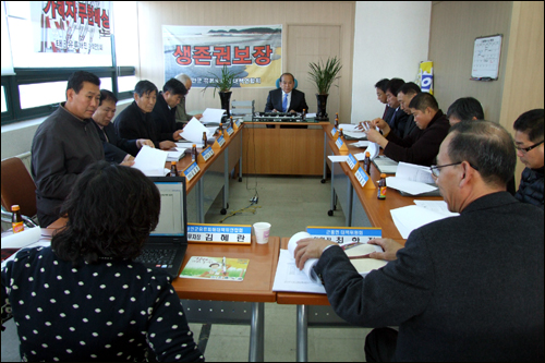 연합회 '비상', 항고는 당연 항고심 각하 결정에 따라 태안군 유류대책위연합회는 비상대책회의를 소집하고 대책마련에 들어갔다.