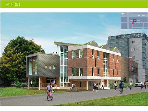 경남 지역의 대표적인 친환경 건축물, 창원YMCA 회관
