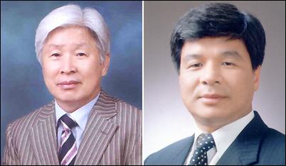 2006년 7월 31일 실시된 경남도교육위원 제2선거구의 선거에서 3위와 4위를 차지했던 김용택, 이상근 후보.