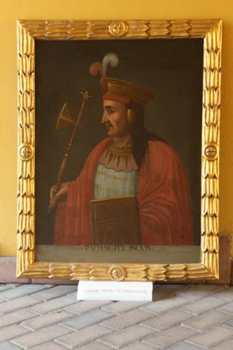파차쿠텍 초상화 잉카 9번째 왕으로서 국가의 기틀을 잡고 제국으로서 영토를 확장하였다. 그의 재위부터 본격적인 잉카 역사로 보고 있다.