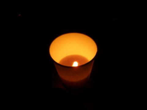 언론자유, 언론수호 촛불 올곧은 방송을 보고 싶다는 바람으로 작은 촛불들이 모여 MBC를 응원했습니다.