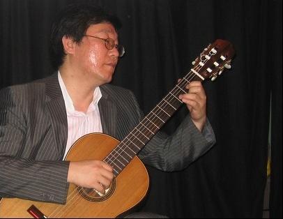 부산 이 낳은 기타리스트 고충진 씨