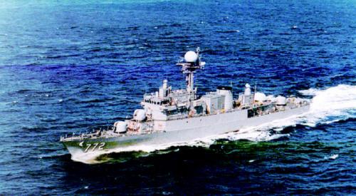 천안함 27일 오전 원인불명의 사고로 침몰한 해군 초계함 천안함(1200t급)