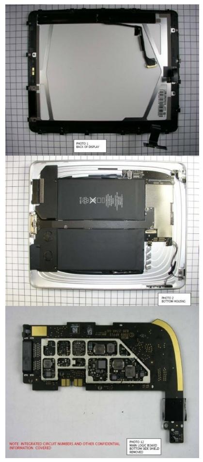 아이패드, 내부는 어떻게 생긴걸까? 애플의 야심작, 아이패드의 속을 공개!