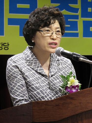 김문자 보건의료노조 국립중앙의료원지부장