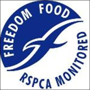 FREEDOM FOOD는 RSPCA의 식품인증제도이다. 동물복지의 기준에 맞는 농장에서 생산된 식품에 인증라벨을 주고 소비자들로 하여금 동물복지적 기준에 맞는 식품을 선택할 수 있게 해준다.