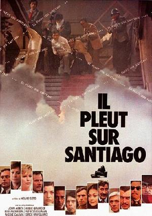 미 CIA와 피노체트 군부의 쿠데타로 무너진 칠레의 아옌데 민주정부의 마지막 항전을 다큐멘터리기법으로 기록한 영화 <산티아고에 비는 내린다>