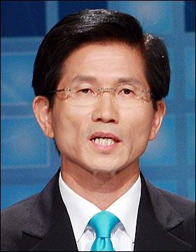 6.2 경기도지사 선거에 출마한 김문수 한나라당 후보.
