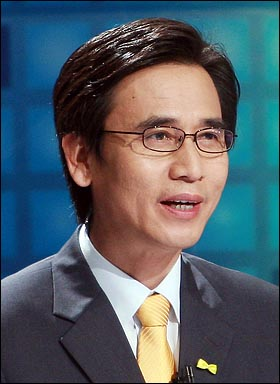 6.2 경기도지사 선거에 출마한 유시민 국민참여당 후보.