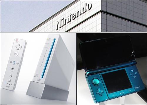 세계에서 가장 창의적인 회사 가운데 하나로 꼽히는 닌텐도는 도쿄가 아닌 교토에 본사를 두고 있다. <뉴스위크>는 닌텐도가 수도에서 지리적으로 분리됨으로써 일본 특유의 답답한 기업문화를 피할 수 있었다고 분석한다. 아래 사진은 닌텐도의 게임기 위(Wii)와 3디에스(3DS).