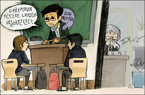 교원평가와 학생인권이 서로 상관이 없다고? 천만의 말씀!