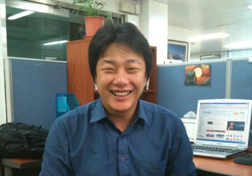 前 민주노동당 홍희덕 의원실 보좌관 조성주씨