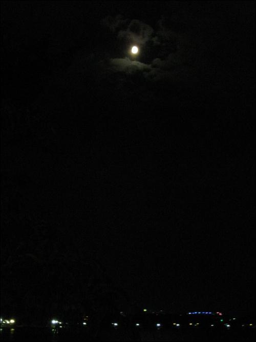 경포해변의 야경