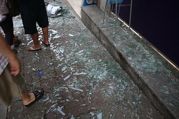행당역 241번 버스 가스폭발사고