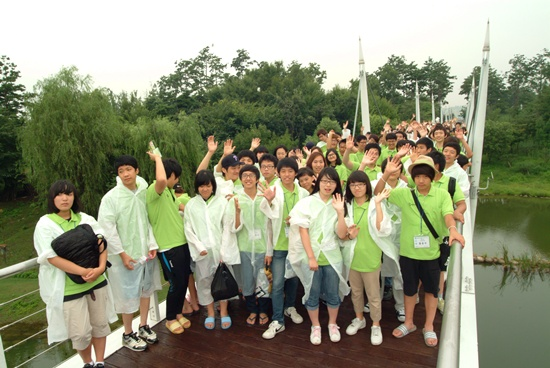 서울숲 체험 캠프의 첫 번째 프로그램인 서울의 숲 체험