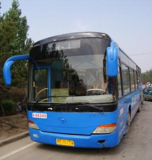 시내버스   대동시내  운강석굴