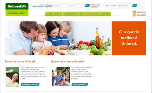 UNIMED 브라질에서 가장 유명한 의료보험 회사 중 하나입니다. 온라인으로 견적도 뽑아볼 수 있습니다.