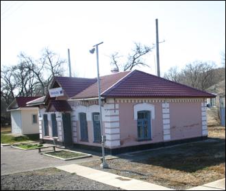 우수리스크 ~ 포브라니치나야 간 러시아 철도 간이역