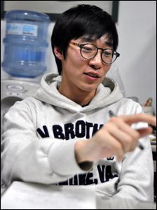 중앙대 자유인문캠프를 기획한 잠수함 토끼들의 곽동건 씨