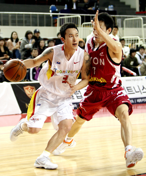 대구 오리온스 팀 전력에 너무 큰 부분을 차지하고 있는 김승현