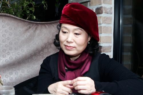 책의 역자 최경순 씨.