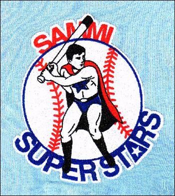 삼미 슈퍼스타즈 마스코트 프로원년 삼미 슈퍼스타즈는 6개 구단 중 유일하게 동물이 아닌 마스코트를 가진 팀이었다