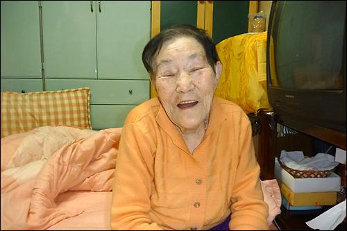 일본군 위안부 피해자 고 임정자 할머니.
