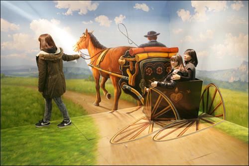 마차를 타고 시골로 가는 중이에요..ㅠㅠ 어?? 언니 어디로 가는 거얌!!!