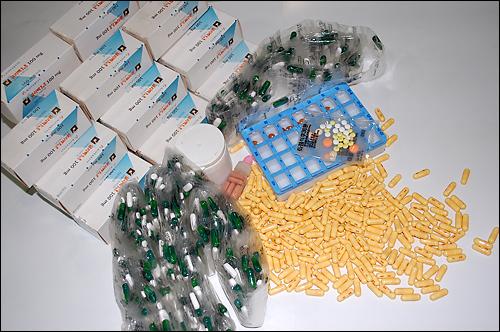 중증질환자들이 임의로 약 복용을 조절해 복용되지 못한채 유효기간이 지난 약들