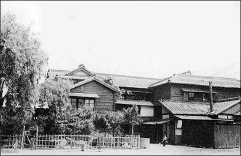 초기 '개정간호고등기술학교' 모습.