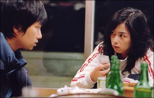 영화 <연애의 목적>의 한 장면.