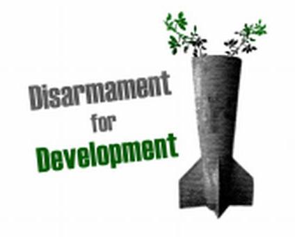 Disarmament for Development(개발을 위해 군축하자) 한정된 우리 재원, 더 시급한 곳에 쓰여야 합니다