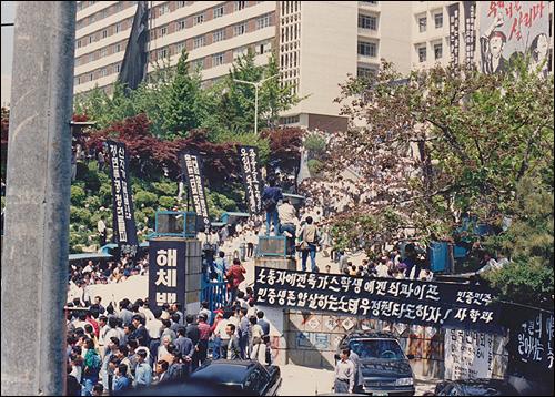 4월 26일(화) 오후 7시 강경대가 절명했던 서울 남가좌동 명지대학교 교정에서 추모문화제가 열린다.