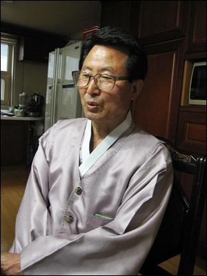 고 강경대 열사 아버지 강민조 전국민주화운동 유가족협의회 회장.