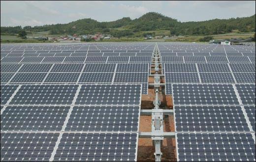 새로운 에너지를 만드는 태양광발전소.^^