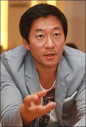 '망고식스'의 강훈 대표.