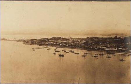 구한말 개항의 중심이었던 인천항. 사진은 1903년 현재 인천항의 모습.