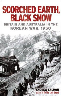 [Scorched Earth, Black Snow] 책 표지.