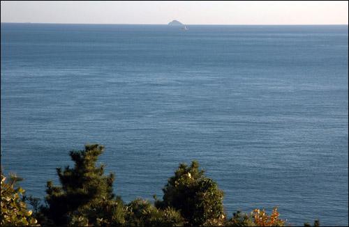 홍도 수 만 마리 갈매기가 사는 섬 홍도. 예전에는 사람 출입을 허용했지만, 이제는 갈매기 보호를 위해 갈 수 없는 섬이 돼 버렸다. 거제도 해상권역 최남단의 섬이다.