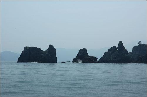 동도 외도 동쪽 끝에 있는 바위 섬, 동도