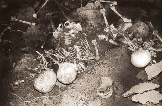 제주4.3항쟁 잃어버린 마을 다랑쉬에서 발견된 유골들