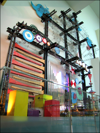 박물관 1층에 있는 김동원 작가의 작품 '앙상블'