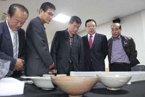 보고회장 찾은 국립태안해양문화재연구소 유치추진위원들