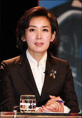 나경원 한나라당 서울시장 후보