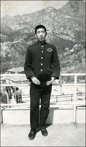 고등학교1학년 시절의 박원순 서울시장 후보