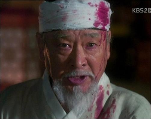 김종서 KBS 드라마 <공주의 남자>에서 김종서로 분한 이순재. 수양대군의 기습을 받아 절명하기 직전 장면이다.
