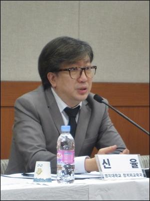 신율 명지대 정치외교학과 교수.