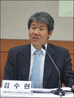 서울시 희망서울정책자문위원장을 맡고 있는 김수현 세종대 도시부동산대학 교수.